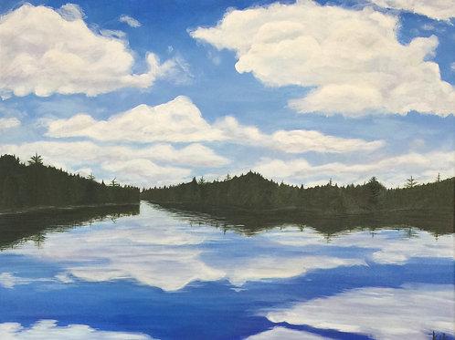 Big Sky Over Little Joe Lake
