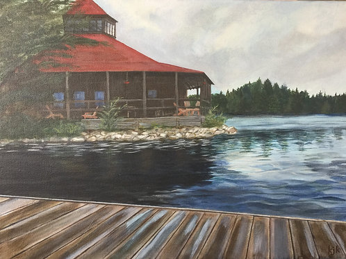 Arowhon Pines Dock