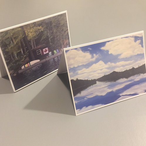 Algonquin Note Cards - 6 pack