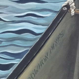 Arowhon Pines canoe