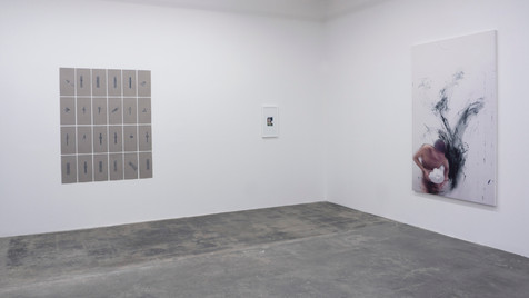 """CARYATIDS"" Installation View"