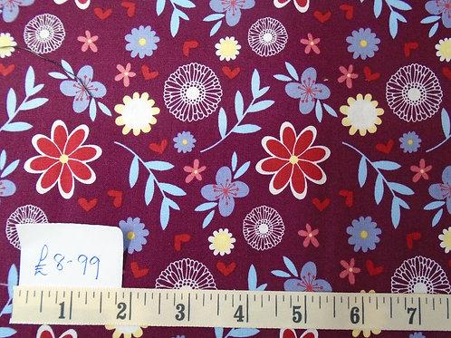 Flowers - £1.25 per quarter