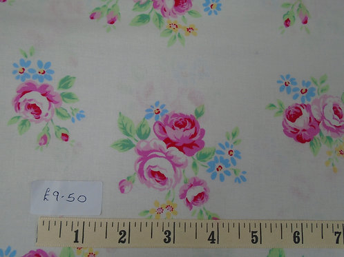 Flowers - £2.37 per quarter