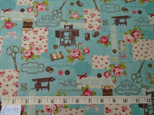 Bag fabric - £2.74 per quarter
