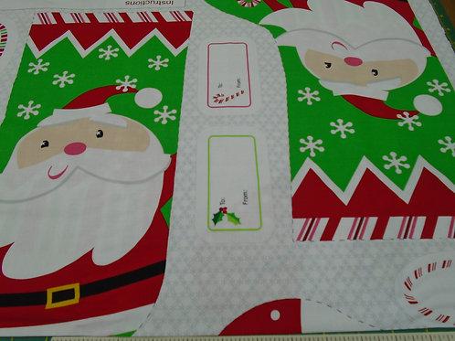 Christmas Stocking- £9.50 per panel
