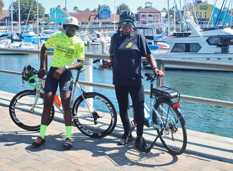 QUEEN MOTHER, BAHATI ENJOYS CYCLING IN LBC