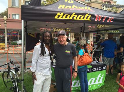 Rashid Bahati and Former LA Mayor Richard Riordan