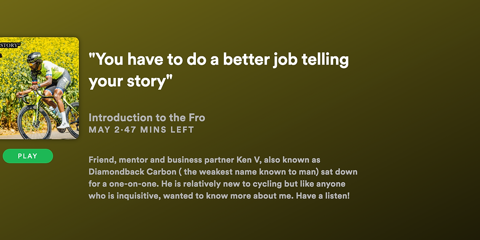 """""""You Have To Do A Better Job of Telling Your Story"""""""