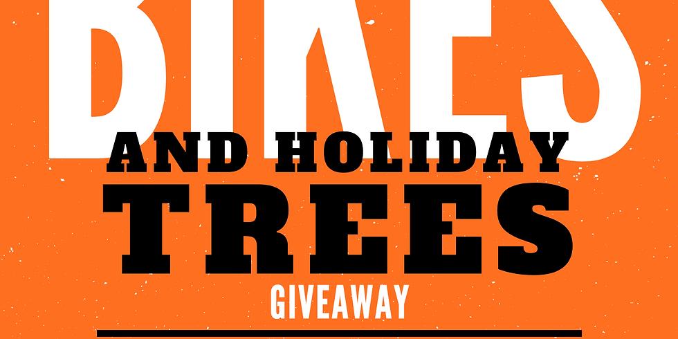 1st Annual Bahati Foundation Bike & Holiday Tree Giveaway
