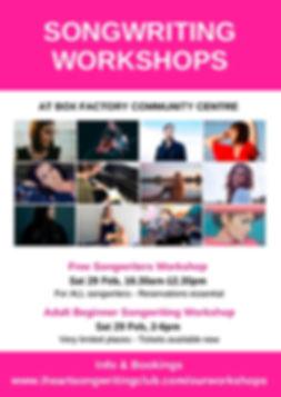 Flyer for Adelaide workshops Feb 2020.jp
