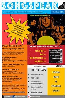 SCALA newsletter June Songspeak