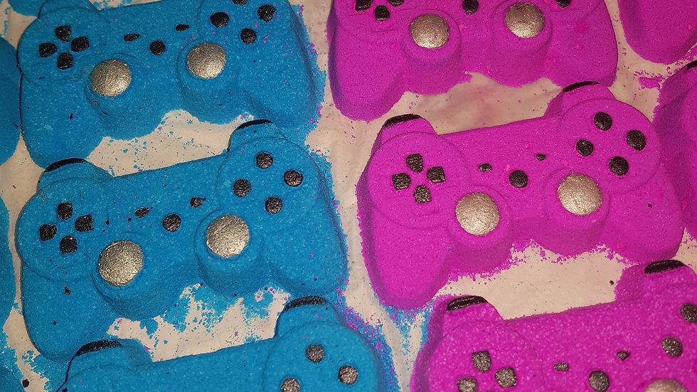 Pink Gamer Pad Bath Bomb