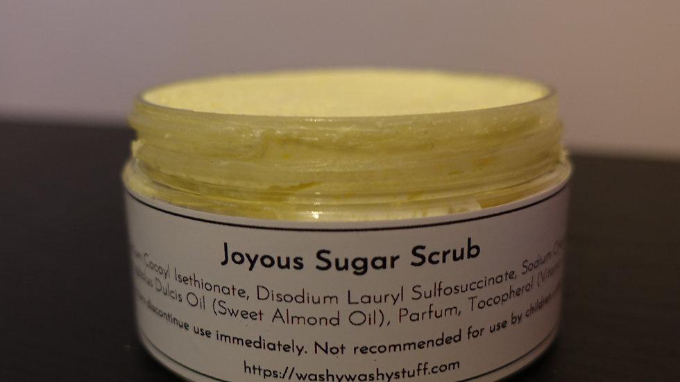 Joyous Sugar Scrub