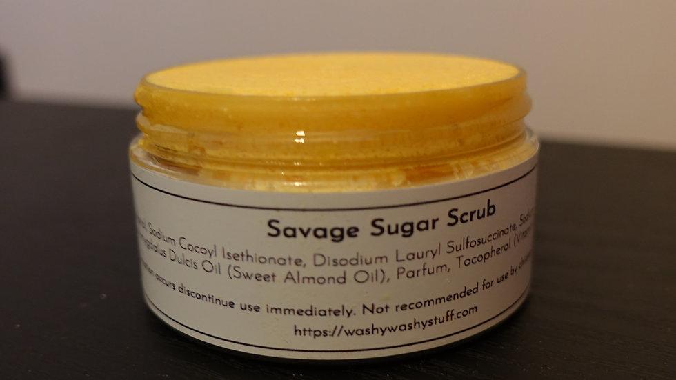 Savage Sugar Scrub