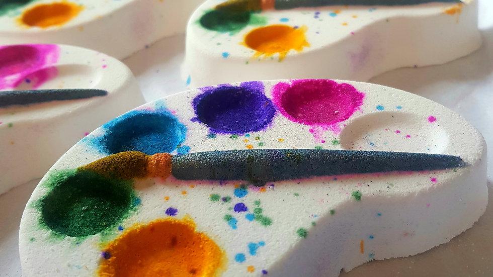 Artist Palette Bath Bomb