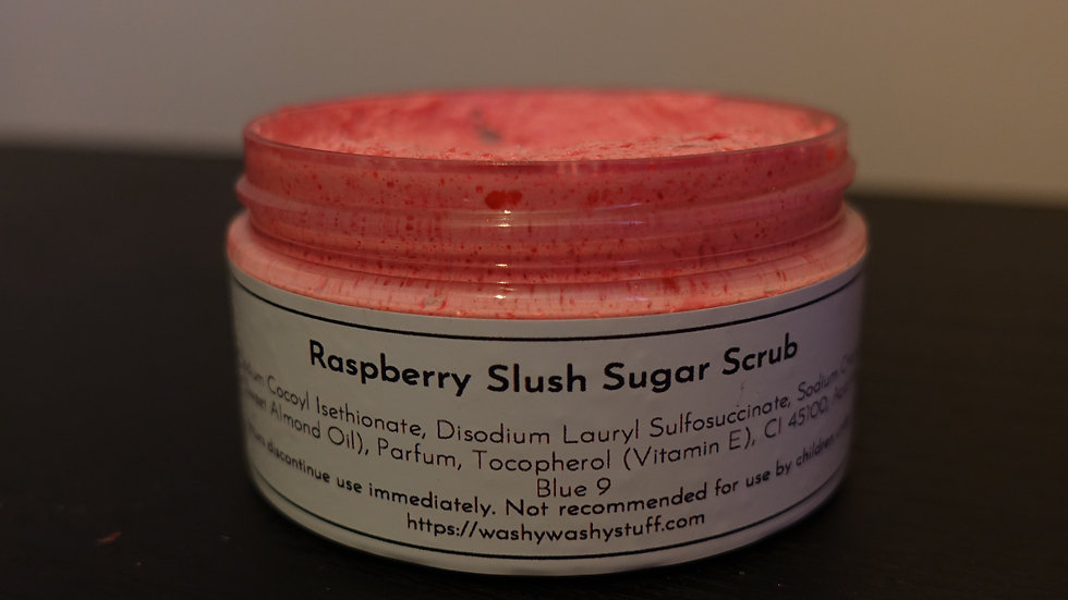 Raspberry Slush Sugar Scrub