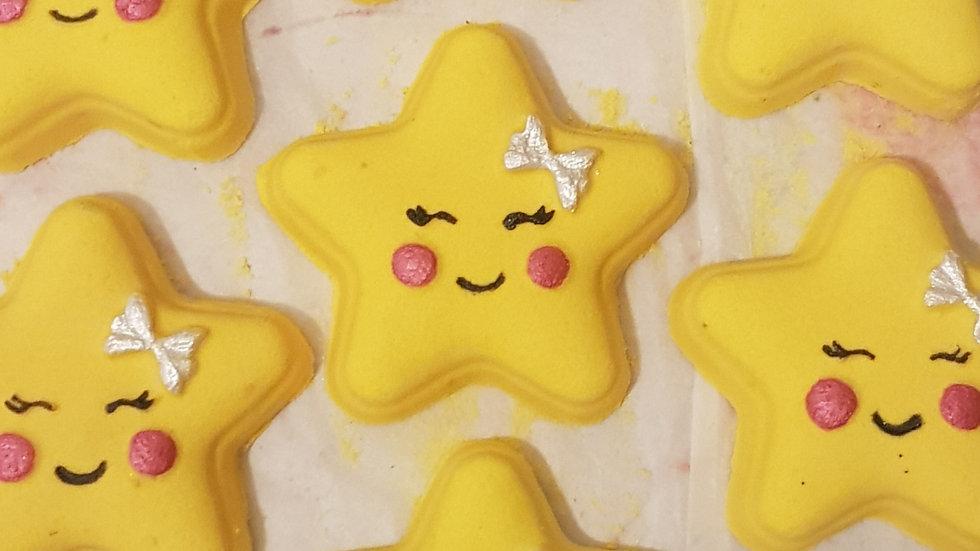 Yellow Star Bath Bomb