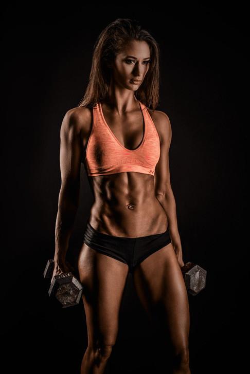fitness shot of Ashley