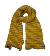 waves sjaal scarf ochre lrt OR orange or