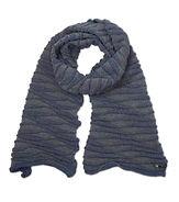 waves sjaal scarf grey lrt OR orange or