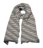 waves sjaal scarf off white lrt OR orang