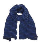 waves sjaal scarf blue lrt OR orange or