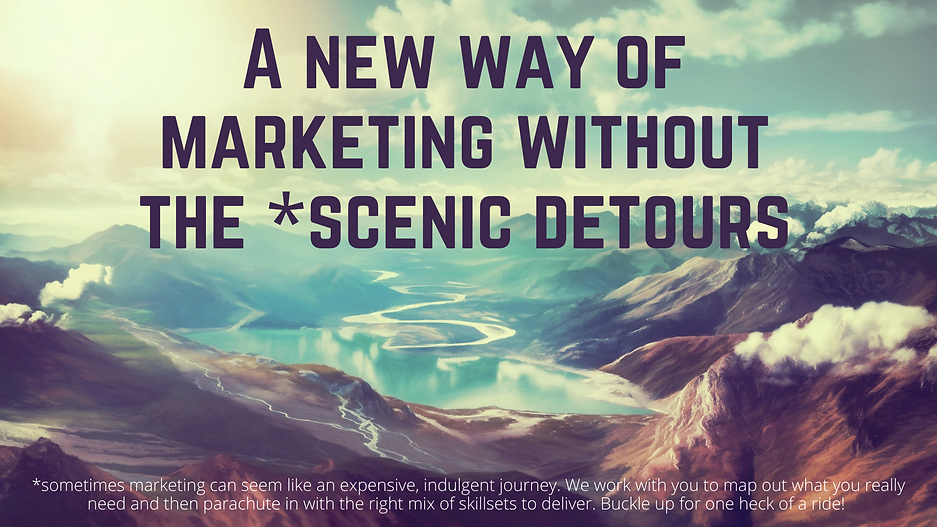 A new way of marketing without the sceni