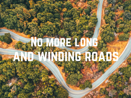 No more long and winding roads