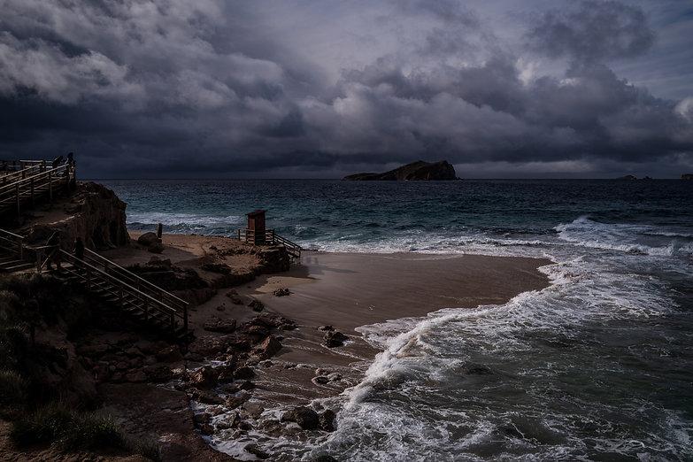 Ibiza beach seascape photo