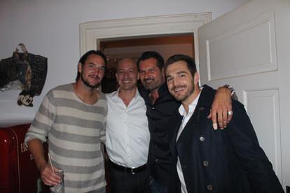 Alain Nef, Sacha Baer und Raeto Raffainer