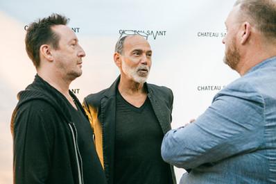 Julian Lennon, Timothy White, Kevin Robert Frost