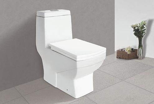 tita square one piece toilet