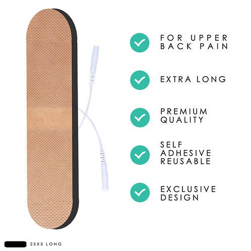 Premium Large TENS Back Pads 25cm x 5cm (2x)