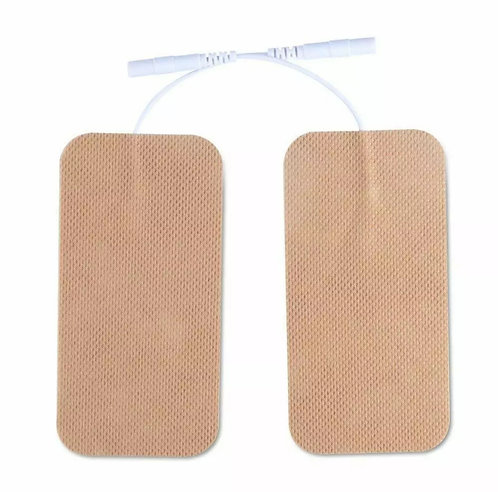 Clinical Grade Large Pads Electrodes 10x5 cm