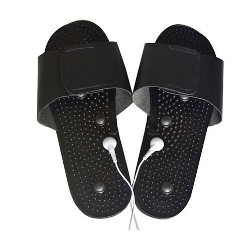 TENS Conductive Electrotherapy Acupuncture Slippers