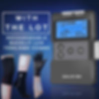 TENS & EMS Machine for Pain relief & Muscle Stimulation