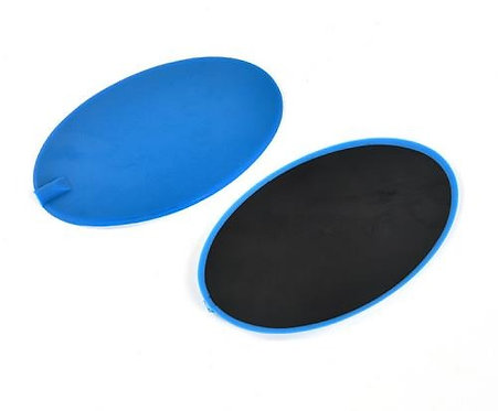 2x Large Carbon Rubber TENS Pads