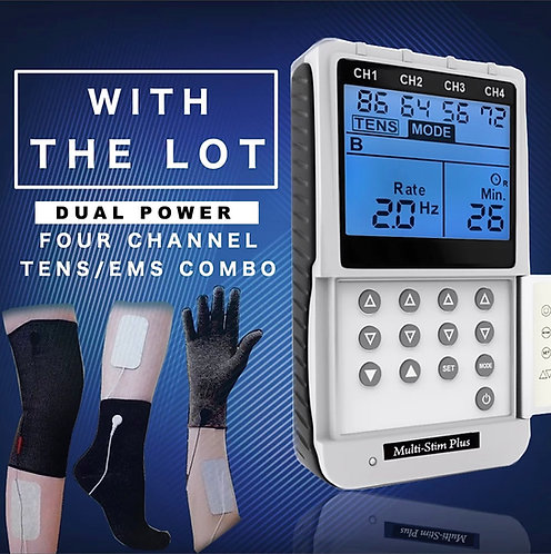Multi Stim Plus Dual Power + Arthritis Electrodes Package