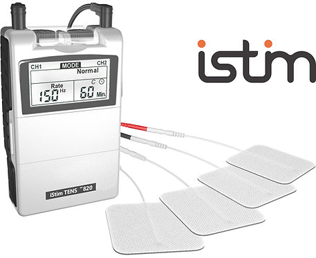 iStim EV-820 Combo TENS & EMS Machine with 24 programs effective & affordable. Sale is On!