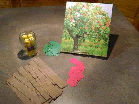Apple Tree Collage