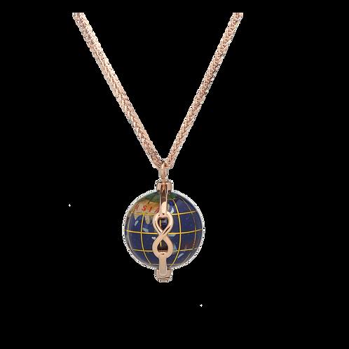 Mappamondo 20mm simbolo infinito
