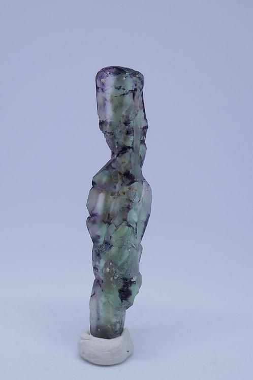 Double Ender Green Spinel Fluorite 'Spear' Cluster