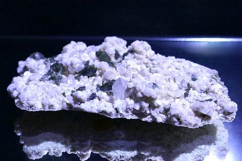 Epidote with Quartz and Feldspar