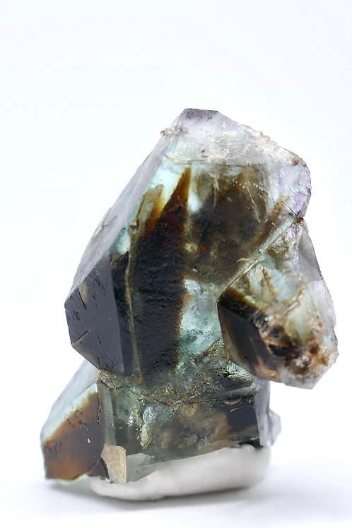 Green Fluorite with Coca Cola Phantom