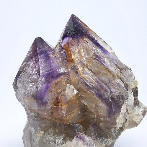 Purple Point Quartz var. Amethyst Cluster