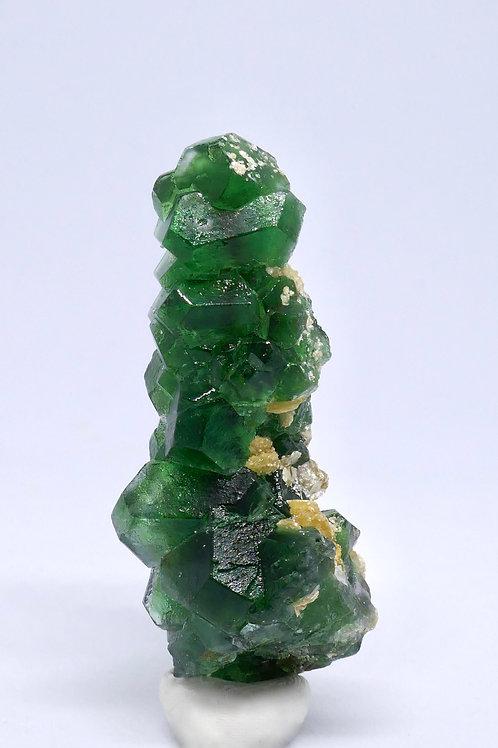 Emerald Green Fluorite Cluster