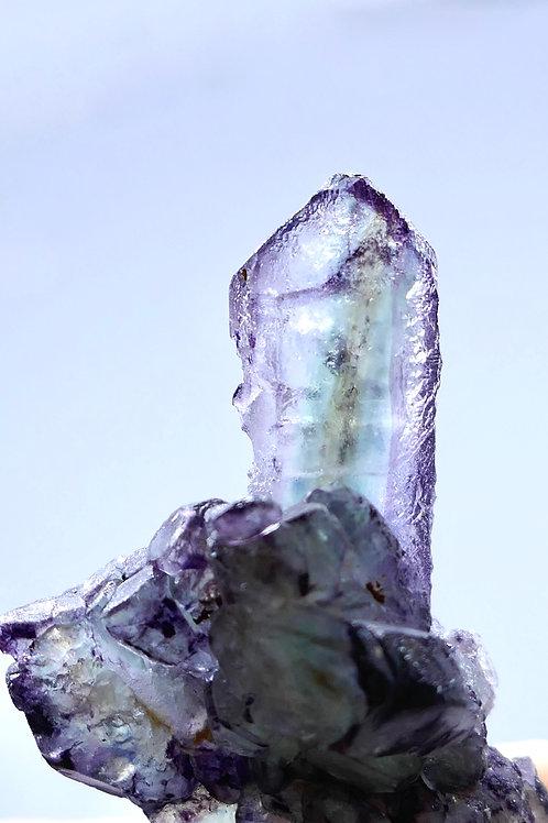 'Spear' Spinel Fluorite Cluster