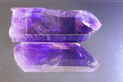 Quartz - Amethyst crystal with Phantom
