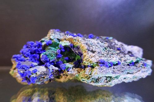 Malachite and Azurite