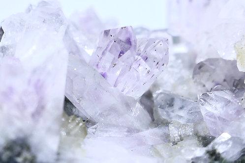 Quartz - Amethyst, Clear, Harlequin